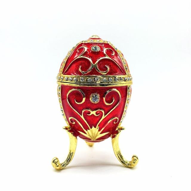 Kırmızı Yumurta Süs Eşyası